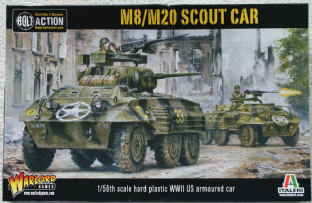 Warlord Games 28mm WGB-AI-504 M8 Armoured Car / M20 Scout Car